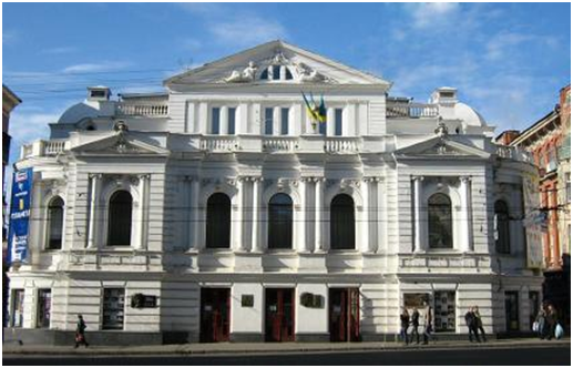 Shevchenko Theater in Kharkiv, Ukraine