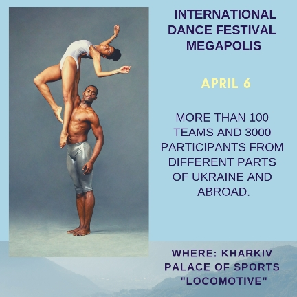 international dance festival in Kharkiv, Ukraine with EESA