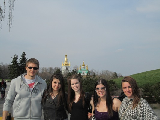 EESA Students in Kyiv