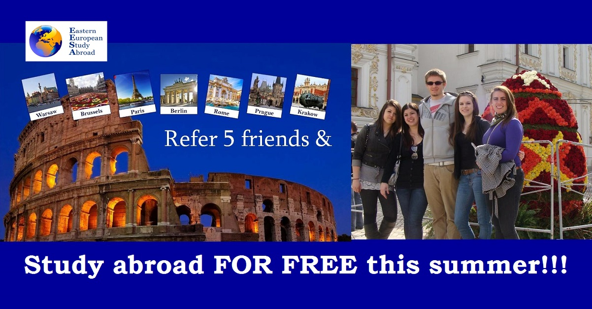 Study abroad for free